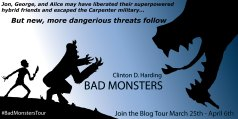 Bad Monsters -- Blog Tour Banner