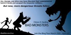 Bad Monsters -- Blog Tour Banner